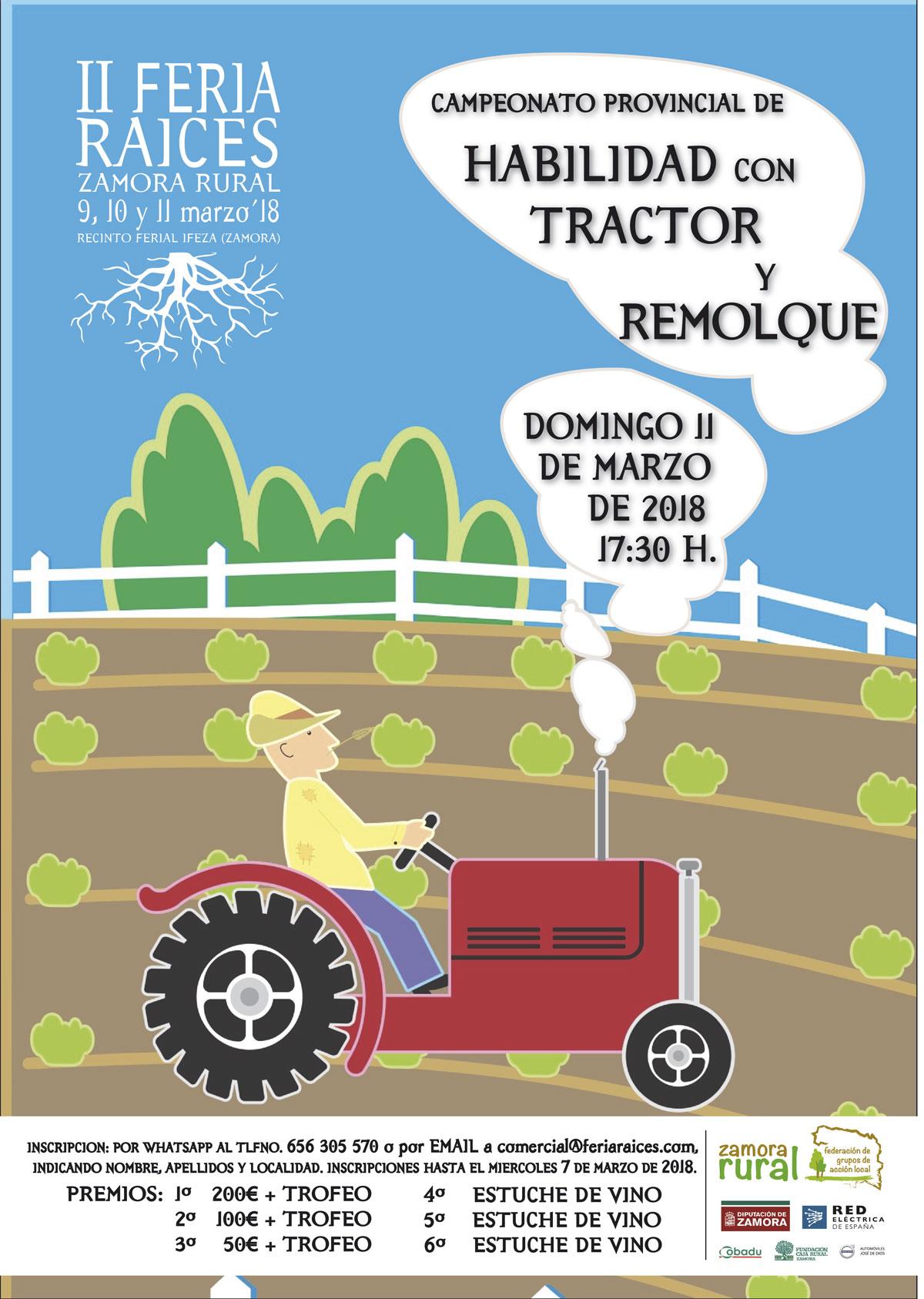 Campeonato Provincial de Habilidad con Tractor y Remolque