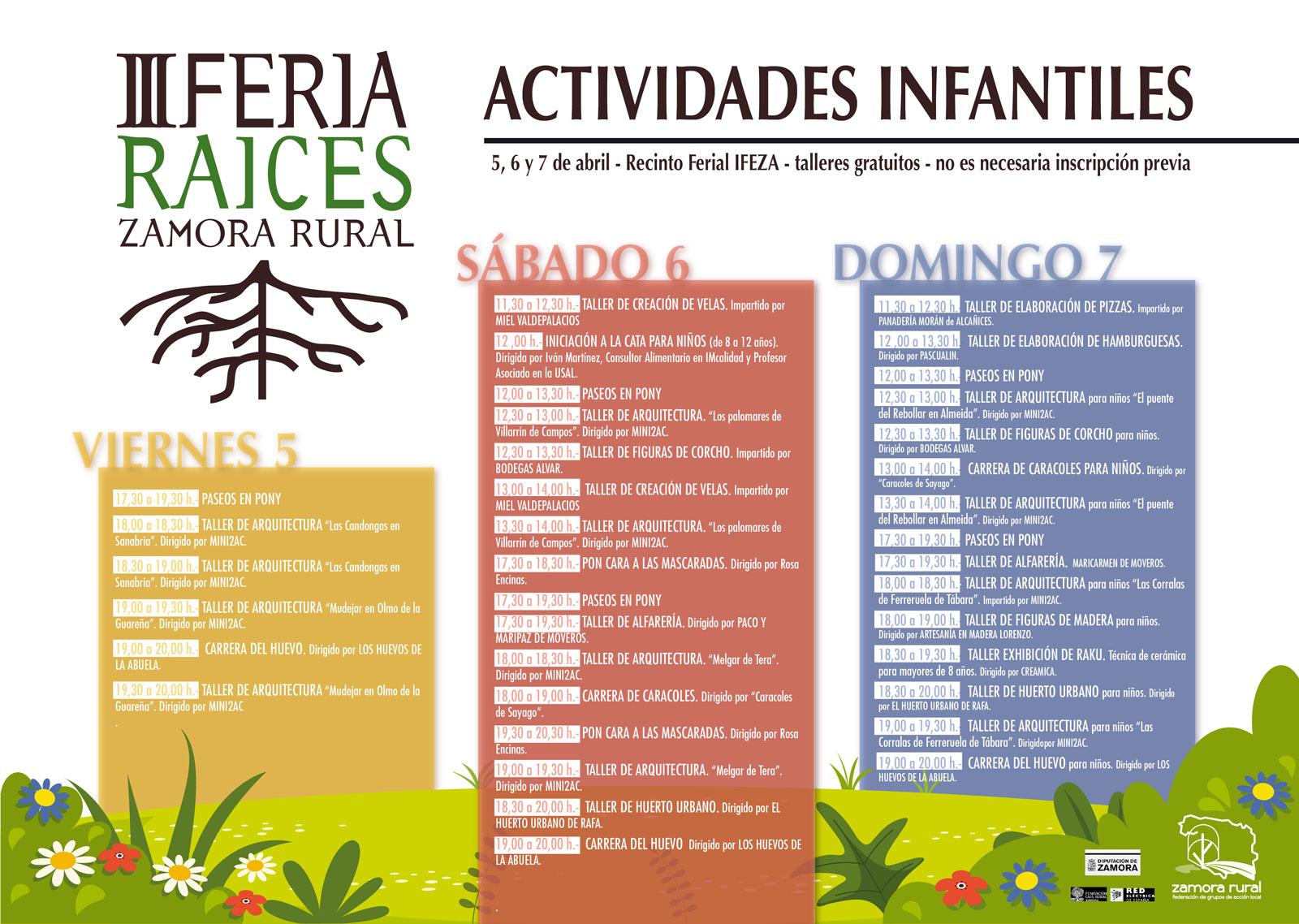 Programa Feria Raíces 2019